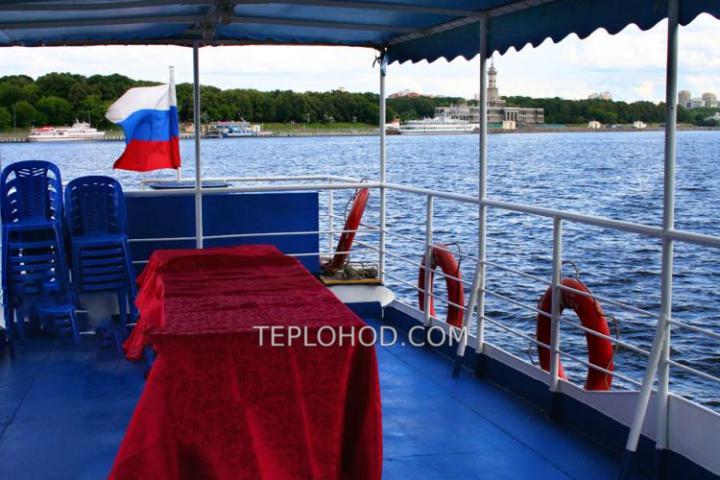 """Теплоход """"Москвич-137"""""""