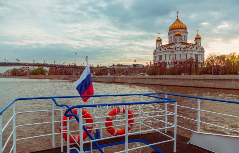 """Прогулочный теплоход """"Москва-24"""""""