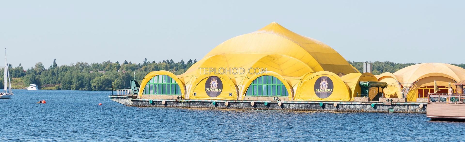 Речная прогулка на пляж в Бухту Радости с остановкой на VIP пляже Малибу