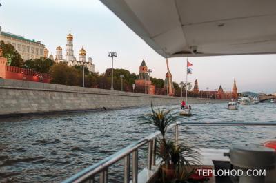 Новое направление - продажа билетов на речные прогулки в Москве