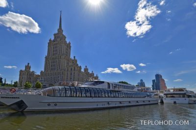 Причал Гостиница Украина