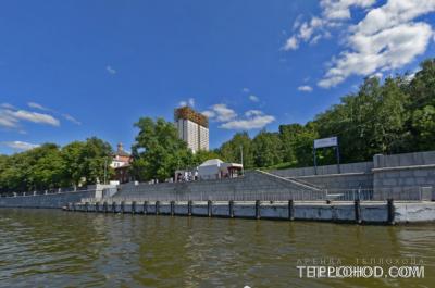Причал Андреевский монастырь