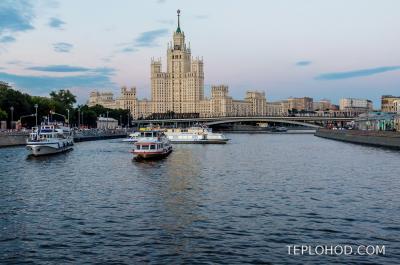 Причал Устьинский Мост