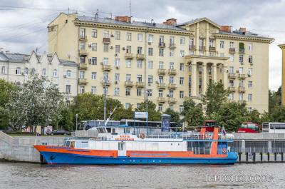 Причал Крымский мост