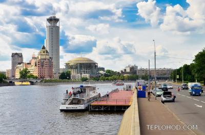 Причал Новоспасский Мост