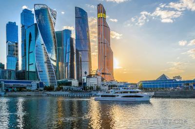 Маршруты теплоходов по центру Москвы