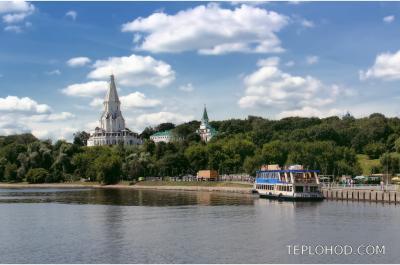 Маршрут по центру с Юга Москвы